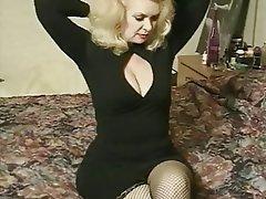 Big Boobs, Blonde, Granny, Pornstar, Stockings