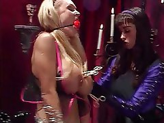 BDSM, Lesbian, Big Boobs, Blonde, Brunette