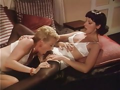 Group Sex, Hairy, Lesbian, Stockings, Vintage