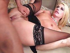 Blonde, Lingerie, Mature, MILF, Stockings