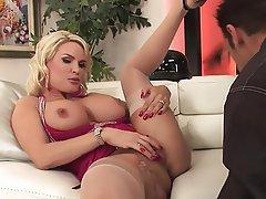 Big Boobs, Blonde, Mature, MILF, Stockings