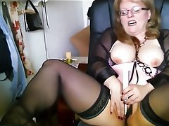 BBW, Big Boobs, German, Masturbation, Orgasm