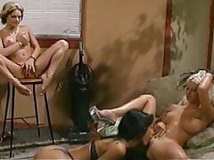 Blonde, Brunette, Lesbian, Masturbation, Big Boobs