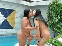 BBW, Brazil, Lesbian, MILF