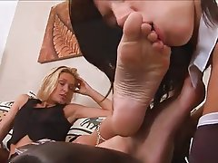 Femdom, Foot Fetish, Lesbian