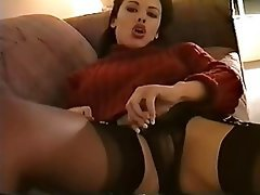 Czech, Foot Fetish, Stockings
