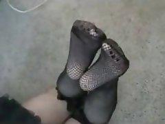 Amateur, Femdom, Foot Fetish, Stockings