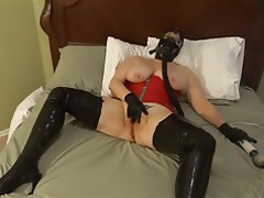 Amateur, Latex, Masturbation, MILF