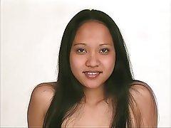 Brunette, Asian, Big Boobs, Lingerie