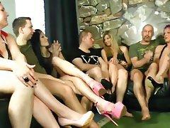 Blowjob, Cumshot, Cunnilingus, German, Group Sex