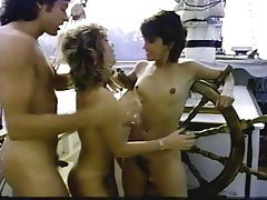 Cunnilingus, Group Sex, Hairy, Small Tits, Vintage