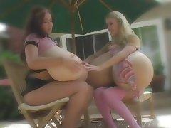 Big Boobs, Bisexual, Lesbian