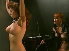 BDSM, Femdom, Group Sex, Lesbian, Spanish